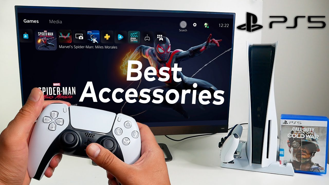 PlayStation 5 Accessories to buy in 2021 - My current PS5 Setup with Nexigo