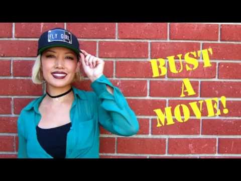 90s dance workout to Bust a Move by Young MC