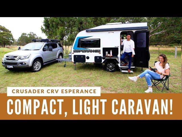 COMPACT CRUSADER CARAVAN: Brand new CRV Esperance reviewed!