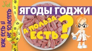 Ягоды годжи (дереза обыкновенная): для похудения или для печени? Мифы ЗОЖ
