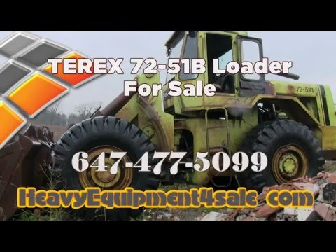Terex 72 51B Loader For Sale Toronto Ontario