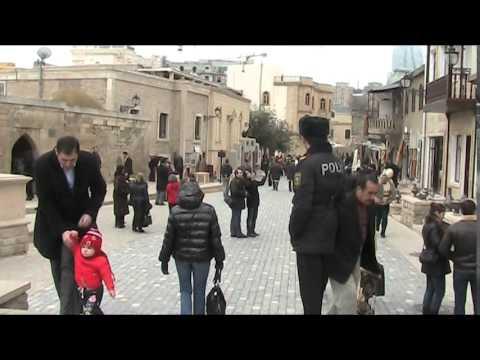 Walking in Baku, Azerbaijan 13