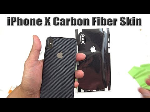 Carbon Fiber Skins For IPhone X (AlienJacket) [4K] 21:9