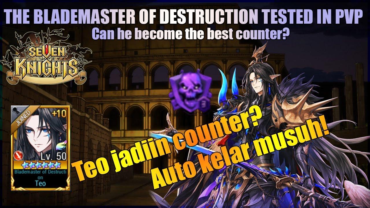 Counter Babang Teo di Arena menggila, emang GG ni hero -Seven Knights Indonesia