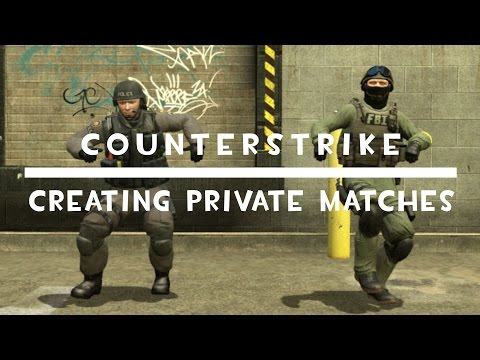 CSGO | Tutorial | How To Create Private Match Competitive For Free!