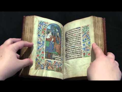 Ms Codex 1056 - Video Facsimile (Book of Hours, Use of Rouen)