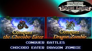 Final Fantasy Record Keeper: Chocobo Eater/Dragon Zombie Conquer Battles