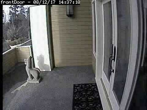 camera for front doorSeattle House Front Door Security Camera Time Lapse  YouTube