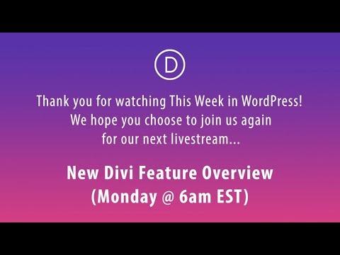 This Week in WordPress (Jan 13 to 19, 2018)