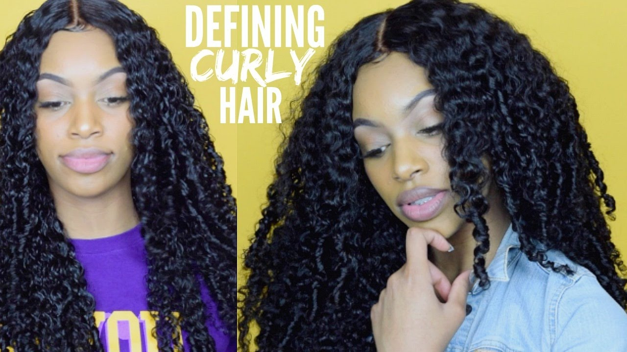 Curly Hair Routine Defining Deep Curly Extensions Aliexpress