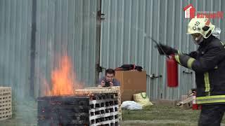 магазин 01 - испытания порошковых огнетушителей (30.05.2019)
