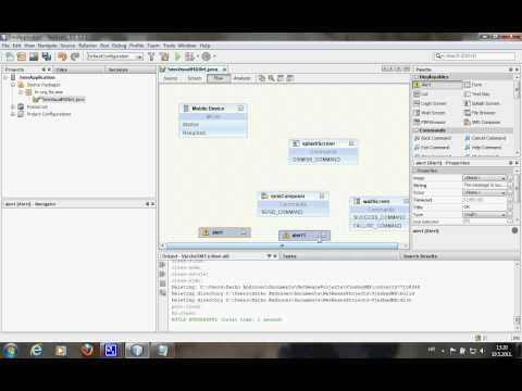 Netbeans - Java ME application