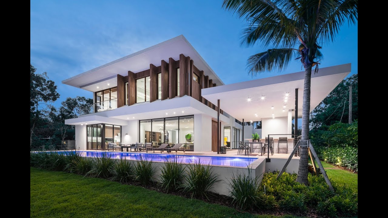 Ultra Modern Architectural Masterpiece In Miami Beach Lifestyle Production Group Youtube