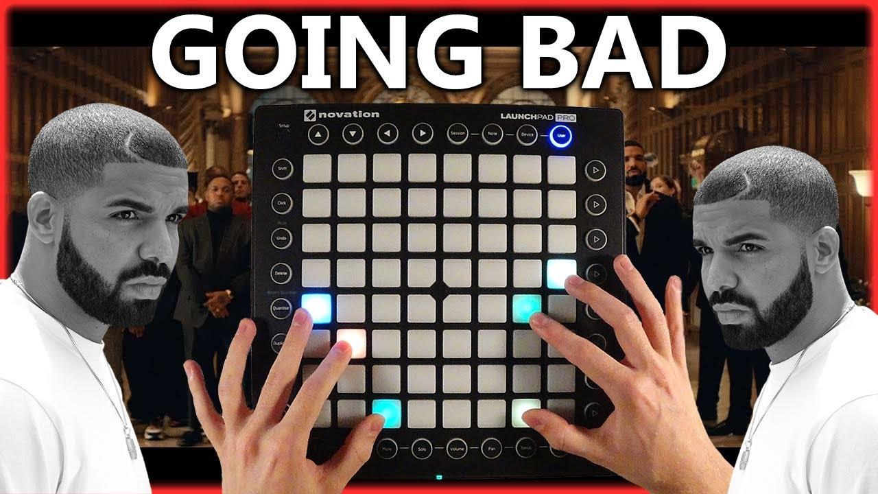 Meek Mill - Going Bad feat. Drake Launchpad Cover (Instrumental) image
