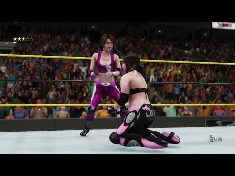 WWE 2K18 (PS4)™ - Courtney Miles vs. Jordan Loftin: RWE Dixie, May 25, 2018 [HD]