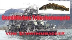 #10 Trüschenfischen vom Schwimmbagger in Flüelen / Vertikal auf Quappen (mit asf-fishing) (FULL HD)