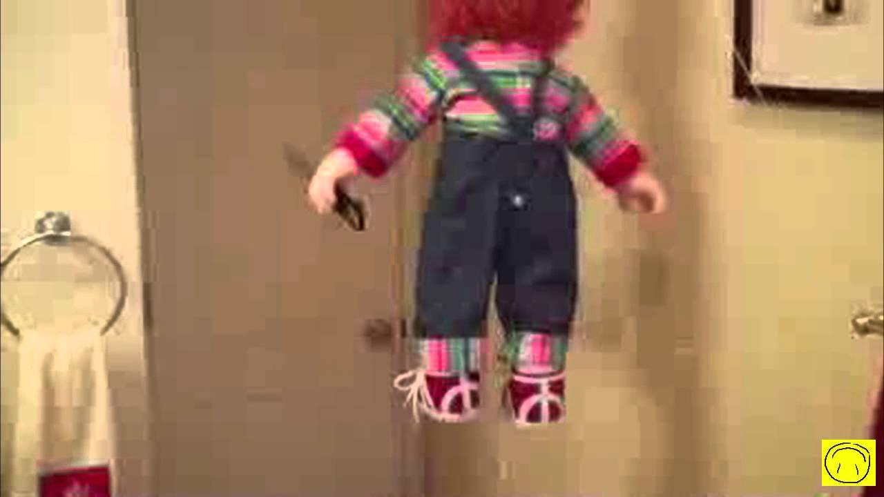 Broma con muñeco Susto Chiste Chistoso Funny