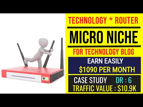 Niche Ideas for Technology Blog | Start a Tech blog & Earn $1090/Month | Example Tech Blogging Site