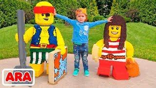 أفضل ساحة لعب مفتوحة للأطفال  لعبة ممتعة في حديقة الملاهي مع فلاد و نيكيت