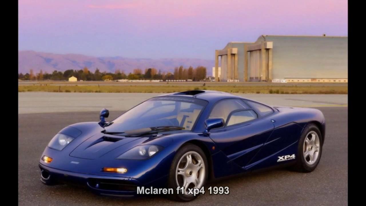 1716. mclaren f1 xp4 1993 (prototype car) - youtube