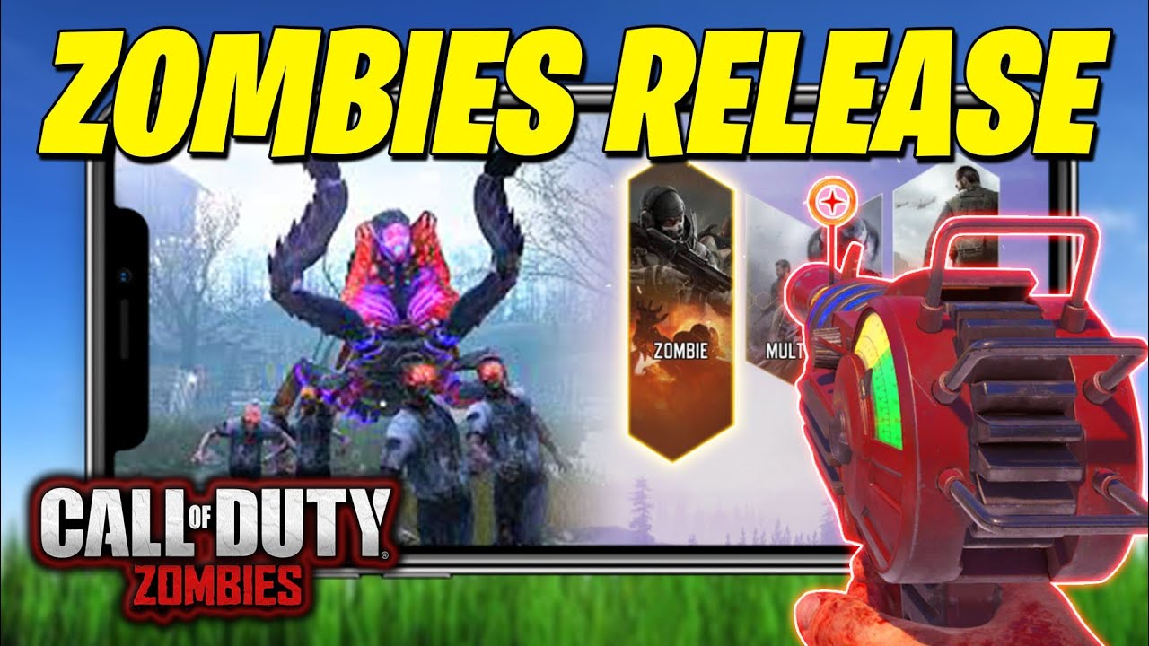 COD MOBILE ZOMBIES RELEASE... (Call of Duty Mobile Zombie Mode)