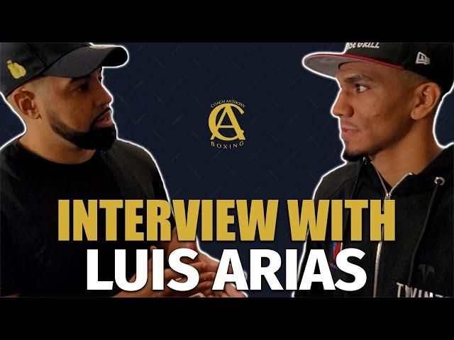 Luis Arias tells Coach Anthony Jarett Hurd Had issues making weight!