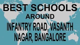 Best Schools around Infantry Road, Vasanth Nagar, Bangalore   CBSE, Govt, Private | Study Space