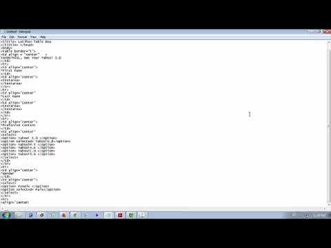 Membuat Web Dengan Html