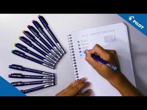 Pilot - FriXion Fineliner - Writing sample