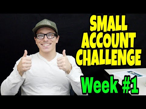 Growing $1,000 to $5,000 | Small Account Challenge | Week 1