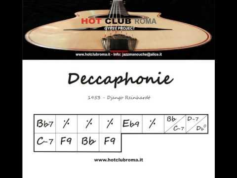 Django Reinhardt - Grilles/Chords - DECCAPHONIE