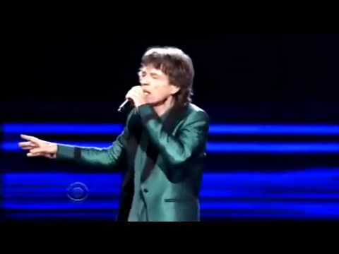 MICK JAGGER - EVERYBODY NEEDS SOMEBODY TO LOVE - Grammy's Awards 2011-Full Version (HQ-856X480)