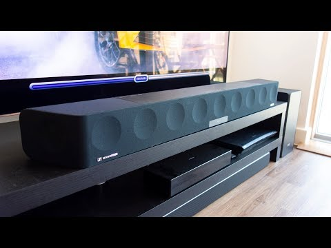 Sennheiser Ambeo Soundbar review - Is the most expensive soundbar worth it? By TotallydubbedHD