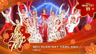 Nếu Xuân Này Vắng Anh - Cẩm Ly | Gala Nhạc Việt 11 (Official) thumbnail