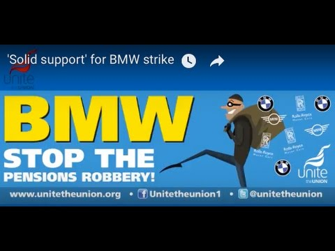 'Solid support' for BMW strike