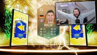 94 RATED FLASHBACK MULLER! - FIFA 19 Ultimate Team