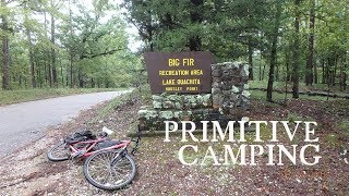FREE Camping Big Fir Campground on Lake Ouachita (Housley Point)
