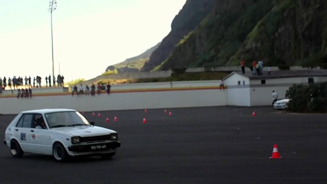 Autocross Madeira - Toyota Starlet Branco