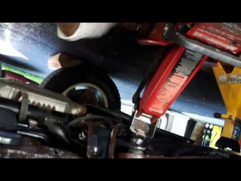 DIY Honda stiff hard power steering adjustment loose or tight rack and pinion repair fix