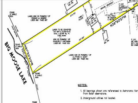 Boundary survey youtube How to read plans for a house