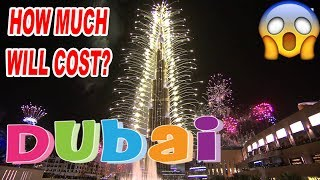 HOW MUCH DOES IT COST TO CELEBRATE NYE IN DUBAI MALL?