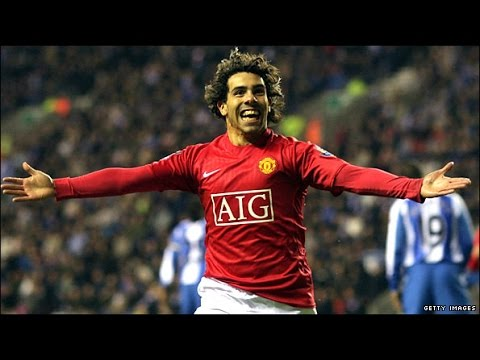 Carlos Tevez ● All goals for Manchester United HD