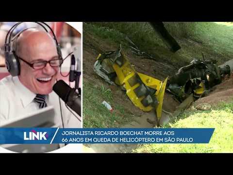 Jornalista Ricardo Boechat morre, aos 66 anos, em queda de helicóptero em São Paulo