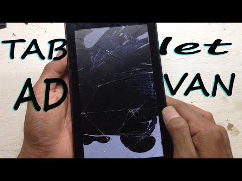 Cara ganti lcd touchscreen Tab Advan S7 S7A S7C