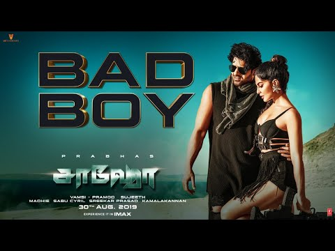 Saaho movie | Bad Boy Song | Starring Prabhas, Jacqueline Fernandez | Badshah, Benny Dayal, Sunitha Sarathy