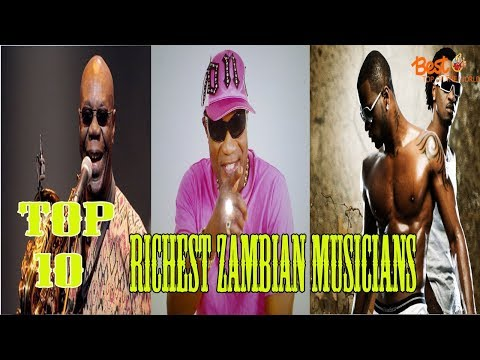 Top 10 Richest Zambian Musicians in the World