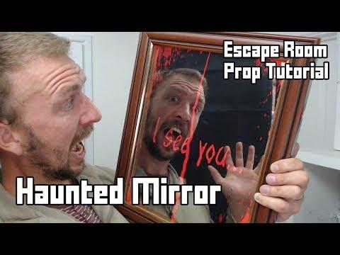 Make a Spooky Haunted Mirror