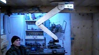 Штатив (манипулятор) для видеокамеры с ДУ Tripod (manipulator) for video camera with remote control