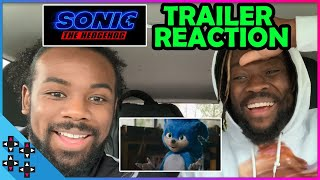 SONIC THE HEDGEHOG LIVE-ACTION MOVIE REACTION! (feat. KOFI & CREED!)