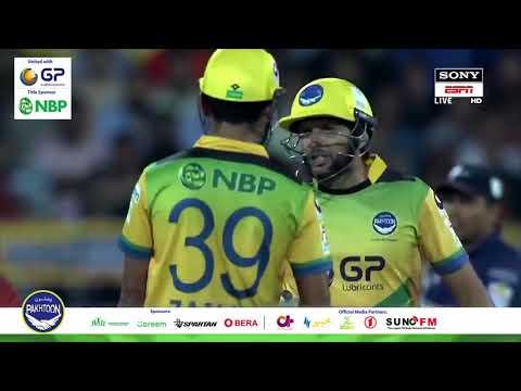 Shahid Afridi and Fakhar Zaman batting partnership highlights